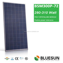 Full certificate poly300w Top quality best price plug in solar panels