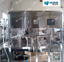 Automatic Self-supporting Pocket Capping Filling Machine for Beverage for Sale