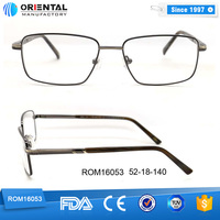 Italy Design Eyeglasses Frame Factory, Metal Material Glasses Frame Eyewear Manufacturer
