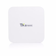 1 Chip TX8 Max power sat digital satellite receiver smart tv box