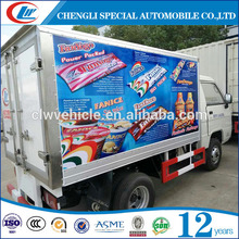 Small FOTON ice-cream freezer Refrigerated Truck Box 4*2 Refrigerated Van Truck