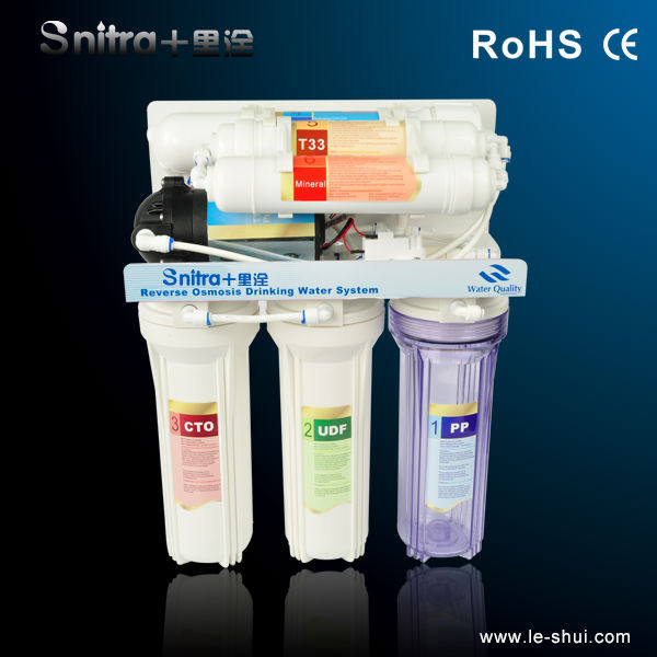 Mini RO Water Filtration Unit Reverse Osmosis Filter Element System