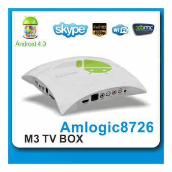 single core internet tv box support HD1080P XBMC