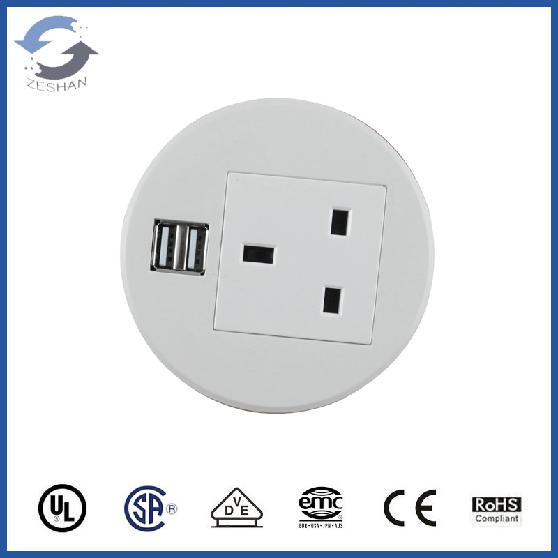 New ZSO Round Desk Mini Socket
