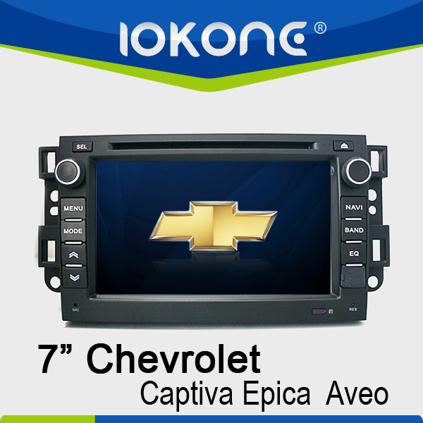 WinCE6.0 system 2 din Touch screen Car GPS navigation for Chevrolet Captiva/Epica/Aveo 2008