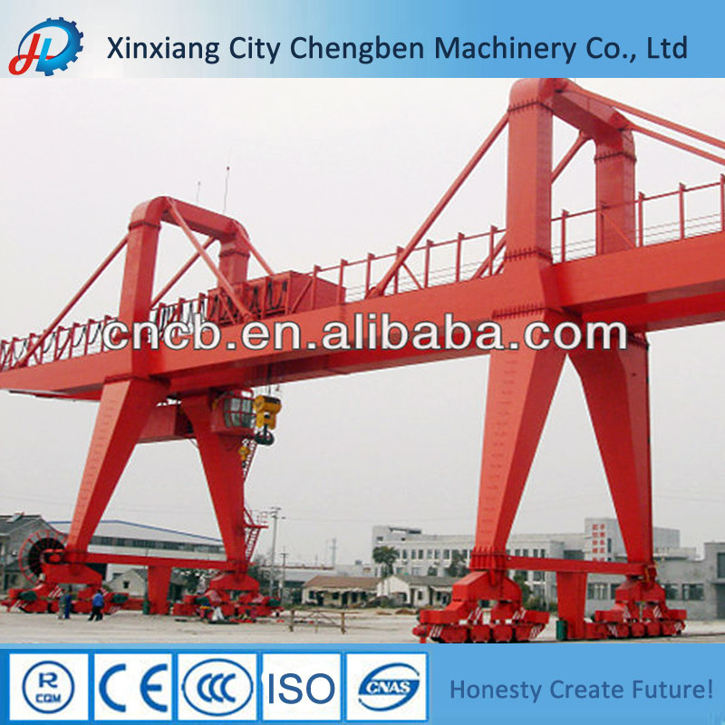 Welding girder structure gantry crane