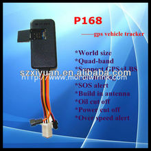 Low price easy install geo-fence report gps tracking car P168