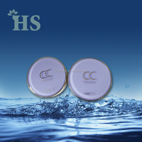 china round PMMA air cushion empty compact powder case