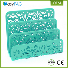 EasyPAG 2 St 3 Rechtop Holle Bloem Metalen Brief Lade Stapelen Sorter Desktop Brief Houder