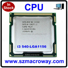 China wholesale 64bits i3 540 cpu
