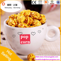 2016 Hot sales food machine pop corn machine delicious pop corn processing line with high quality