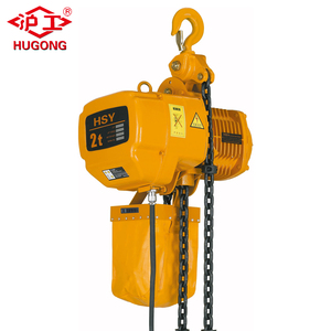 110V Manufacturing lifting tool electric winch powered chain hoists used