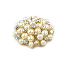 Removable shoe jewelry pearl charm decorated bridal shoe charms for wedding