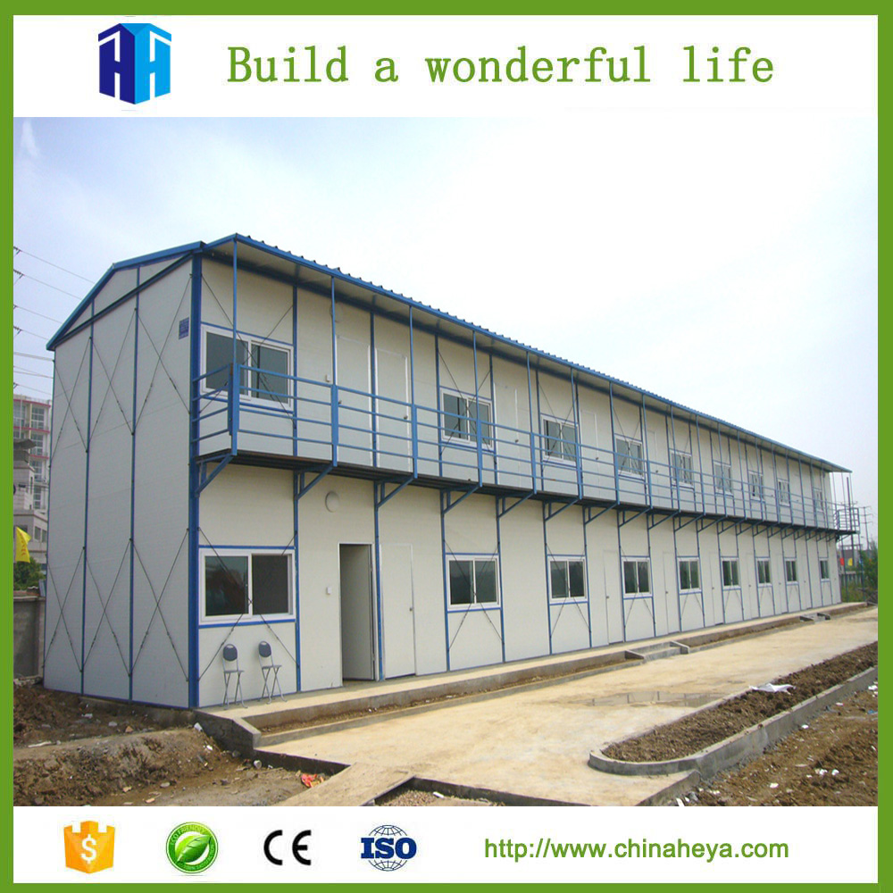 2017 Prefab cheap house building low cost labor camp design in Nepal