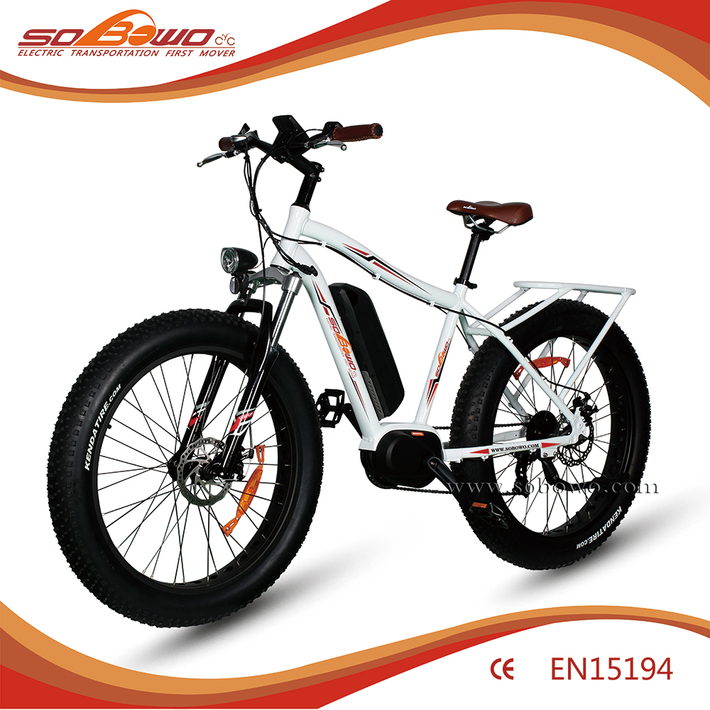 2016 electric bike motor mid drive 250w 350w chinese e bike with fat tyre