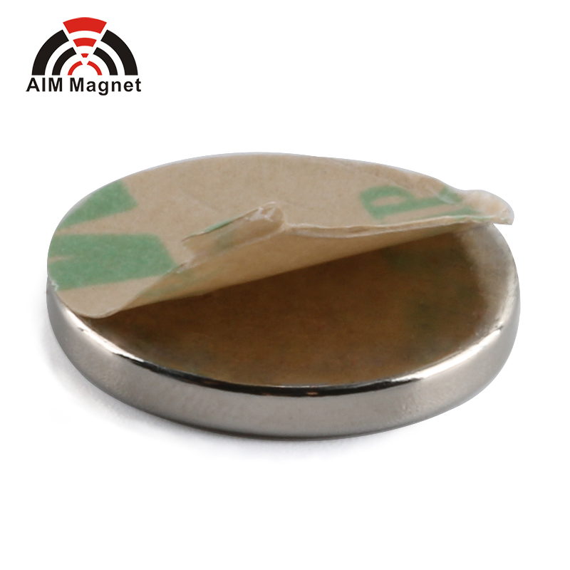 N35 10x2mm Round Adhesive Magnet for package box