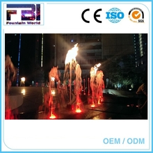 Chinese Decorative water fountain fire fire spray water fountain