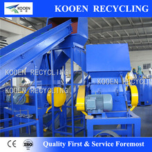 PET bottle washing machine pet plastic recycling cleaning line
