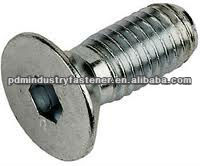 DIN7991 socket countersunk head screw