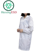 HJ-1863015 ESD Polyester Coat for Cleanroom