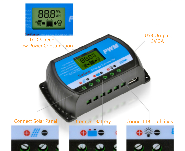 pwm price solar charge controller