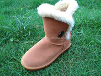 wholesale chinese brand sheepskin snow boots fashion tide-flow non slip winter snow boots order