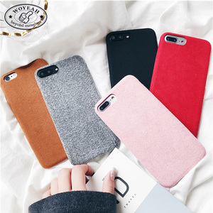 China Manufacturer Custom Flannelette Cell Phone Case For iPhone 6S