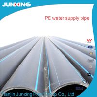"HDPE 6"" Inch diameter plastic Water Pipe for Mining Industry"