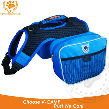 My Pet VC-BP12001BLUE Popular backpack with dog design