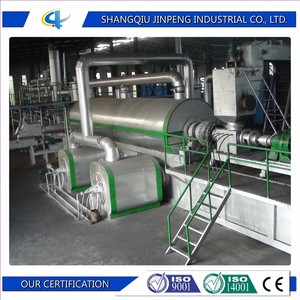 Fully automatic waste tyre recycling machine no pollution