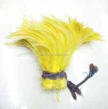 Top Quality Bleached and Dyed Long Rooster Saddle Tail Feathers for Decoration