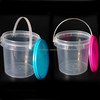China Manufacturer Factory Supply Round plastic pail with lid for food
