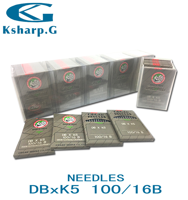 Industrial Sewing Machine Parts Sewing Needles DBXK5 Japan Organ Needle for Embroidery Machine Use
