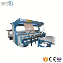 SUNTECH Cold Cutting Fabric Inspection And Selvedge Strip Slitting Machine