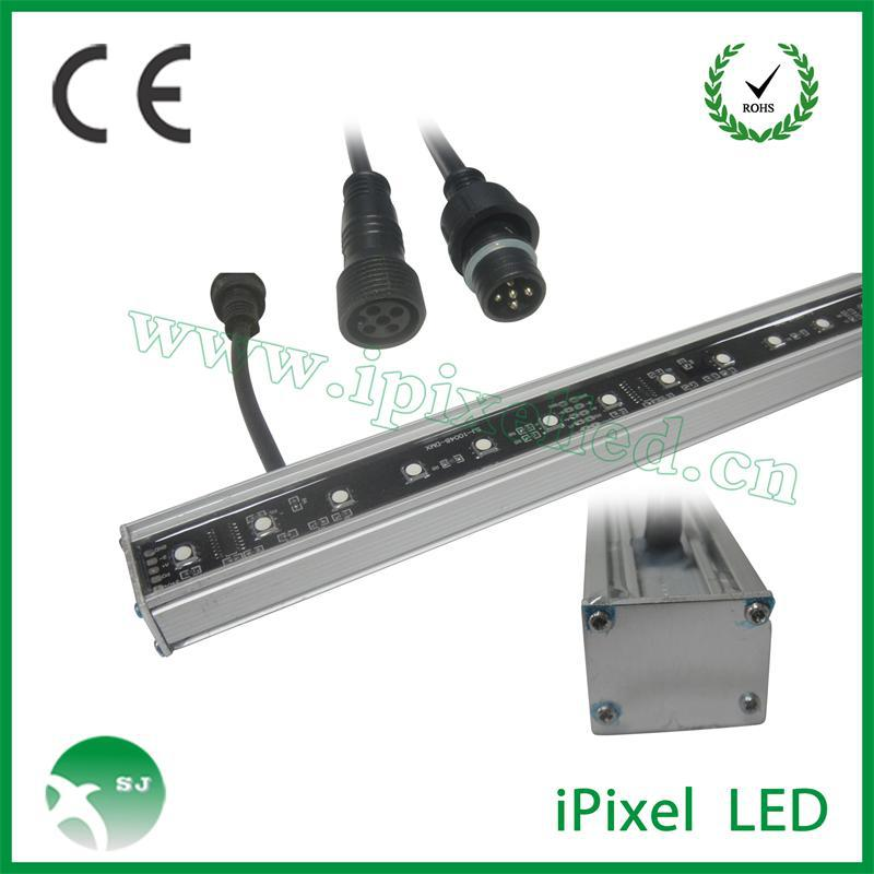 programmable matrix 5050rgb digital led rigid bar DMX512