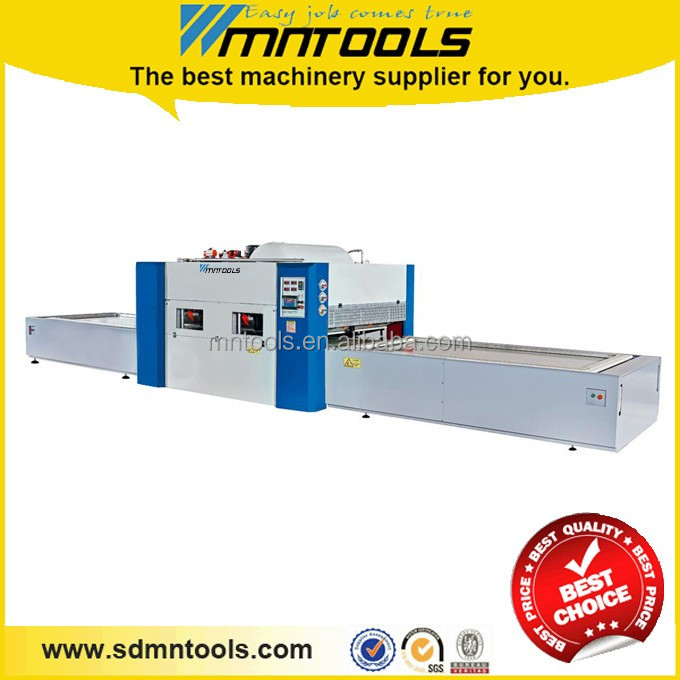 Positive and negative pressure membrane press machine