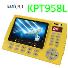 4.3 inch portable hd satellite finder frequency meter satellite finder/monitor KPT958L