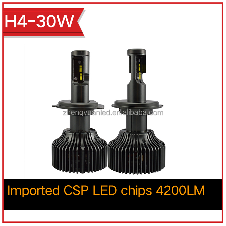 High Quality 12V 24V For Car/Truck All in one Head Lamp H4 6400 Lumens Led Automotive Led