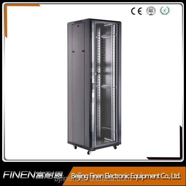 Economy SPCC 19 inch server rack dimensions price for Telephone Systems