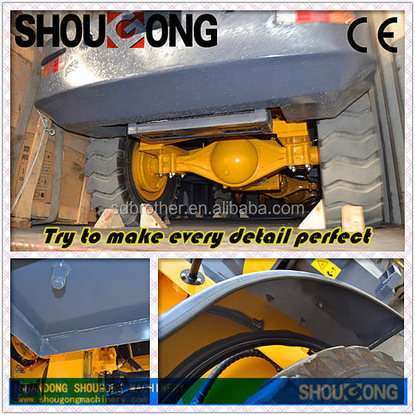 Shougong SG12F NEW DESIGNED BUCKET LOADER