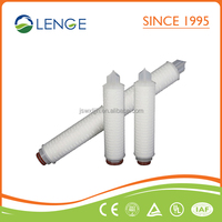 Pleated Filter PES 0.1 Micron Filter Cartridge