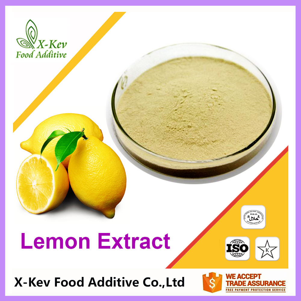 Pure 10:1 20:1 98% Diosmetin Organic Lemon Extract For Lemon Juice