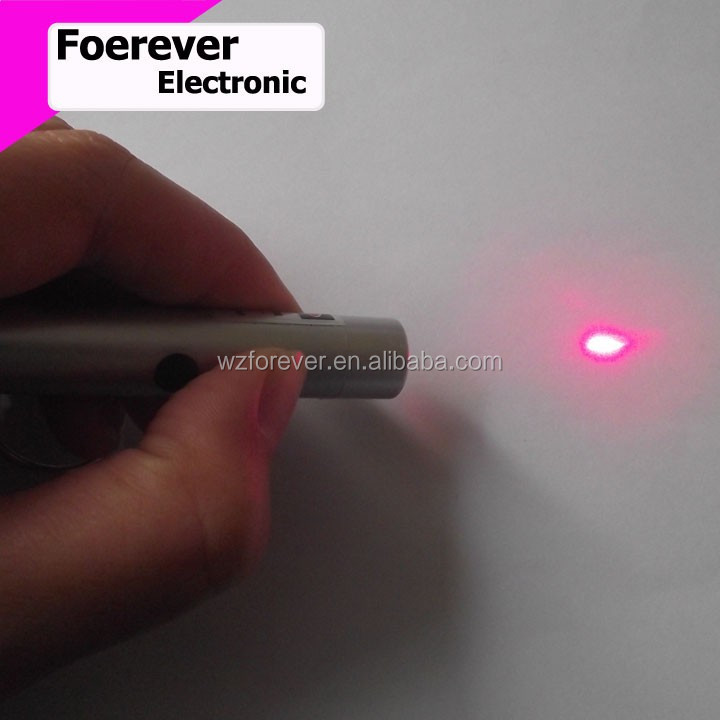 2016 Hot Selling 2 in 1 LED Torch With Red Laser Pointer Keychain