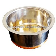 POP Stainless Steel Cheap Kitchen Mixing Serving Salad Bowl