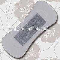 Bamboo charcoal panty liners for women