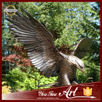 2016 Outdoor Newest Large Bronze Eagle Statue For Decor