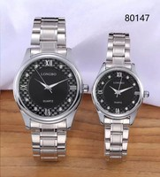 Wholesale Best Couple Watches Alloy for lovers and Friends Gift Top Brand Luxury Couple Watch