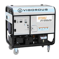 VIGOROUS 12V/5V DC 50Hz/60Hz Low rpm Magnet Emergency Digital Inverter Electric Generator 4kw with Automatic Transfer Switch