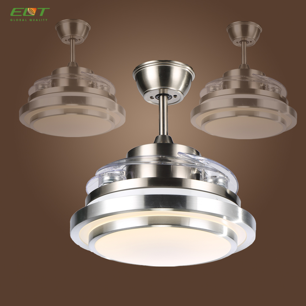 Classical Wireless Hidden Blades Ceiling Fan