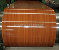 Color wood / galvanized steel plate/ Factory direct selling / manufacturing in China